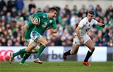 England out-half George Ford chases back as Ireland's Conor Murray makes a break early in the second half Credit: ©INPHO/Dan Sheridan