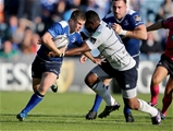 Cardiff number 8 Manoa Vosawai reaches out to tackle Leinster's Luke McGrath Credit: ©INPHO/Dan Sheridan