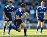 The 20-year-old Garry Ringrose, pictured with ball in hand, made his Leinster bow on the left wing Credit: ©SPORTSFILE/Stephen McCarthy
