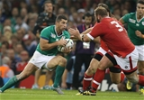 Rob Kearney was a lively runner for Ireland as they continued to press the Canadian defence Credit: ©INPHO/Billy Stickland