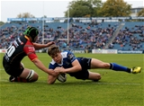 There were 64 minutes on the clock when Garry Ringrose crossed for Leinster's third try and his first PRO12 score Credit: ©INPHO/Ryan Byrne
