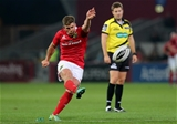 Out-half Ian Keatley adds the conversion to BJ Botha's second half try at Thomond Park Credit: ©INPHO/Ryan Byrne