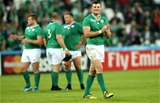 Athlone native Robbie Henshaw was pleased to mark his first Rugby World Cup appearance with a win Credit: ©INPHO/James Crombie