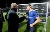 Garry Ringrose was interviewed by Sky Sports' Graham Simmons following his man-of-the-match performance Credit: ©INPHO/Ryan Byrne