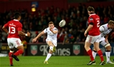 Paddy Jackson lands a 45th minute drop goal as Ulster retake the lead at 21-19 Credit: ©INPHO/James Crombie
