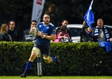 Number 8 Jack Conan finishes off Leinster's third try, rewarding some excellent approach work from Noel Reid, Jordi Murphy and Isa Nacewa Credit: ©SPORTSFILE/Ramsey Cardy