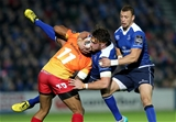 Zane Kirchner supports Dominic Ryan as he is tackled by Scarlets winger Michael Tagicakibau Credit: ©INPHO/Ryan Byrne