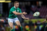 Paddy Jackson throws a pass during the first Test of Ireland's 2016 summer tour Credit: ©INPHO/Billy Stickland