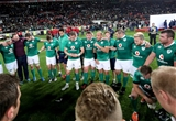 Ulsterman Rory Best talks to his team-mates after a frustrating 19-13 defeat to the Springboks Credit: ©INPHO/Billy Stickland