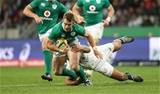 Matt Healy saw action in both halves as he made his debut for Ireland against the Springboks Credit: ©INPHO/Billy Stickland