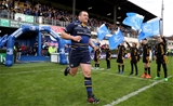 Prop Jack McGrath runs out ahead of his 100th senior appearance in Leinster colours Credit:  ©INPHO/Dan Sheridan