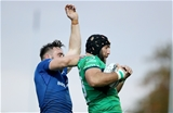 Connacht captain John Muldoon wins a lineout for his side, ahead of Leinster's Jack Conan Credit: ©INPHO/Dan Sheridan