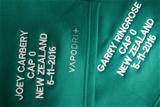 The match jerseys of uncapped Ireland backs Joey Carbery and Garry Ringrose Credit: ©INPHO/Dan Sheridan