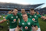 A group phot of All Black conquerors - Conor Murray, Simon Zebo, Jared Payne and Sean Cronin Credit: ©INPHO/Billy Stickland