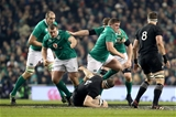 Young prop Tadhg Furlong had a stunning first half carry where he fended off three New Zealand forwards in quick succession Credit: ©INPHO/Dan Sheridan