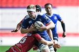 Recent Ireland debutant Dan Leavy leads an attack for the table-topping Leinstermen Credit: ©INPHO/Craig Thomas