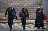 Franco van der Merwe, Ruan Pienaar and Robbie Diack arrive for Ulster's round 3 clash with Clermont Auvergne Credit: ©INPHO/Morgan Treacy
