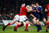 Guinness PRO12, Thomond Park, Limerick 26/12/2016Munster vs LeinsterMunster's James Cronin and Donnacha Ryan tackles Cian Healy of LeinsterMandatory Credit ©INPHO/Tommy Dickson